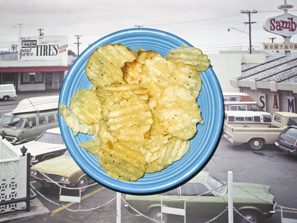 William Rugen,  Potato Chips in Uncommon Places , 2010