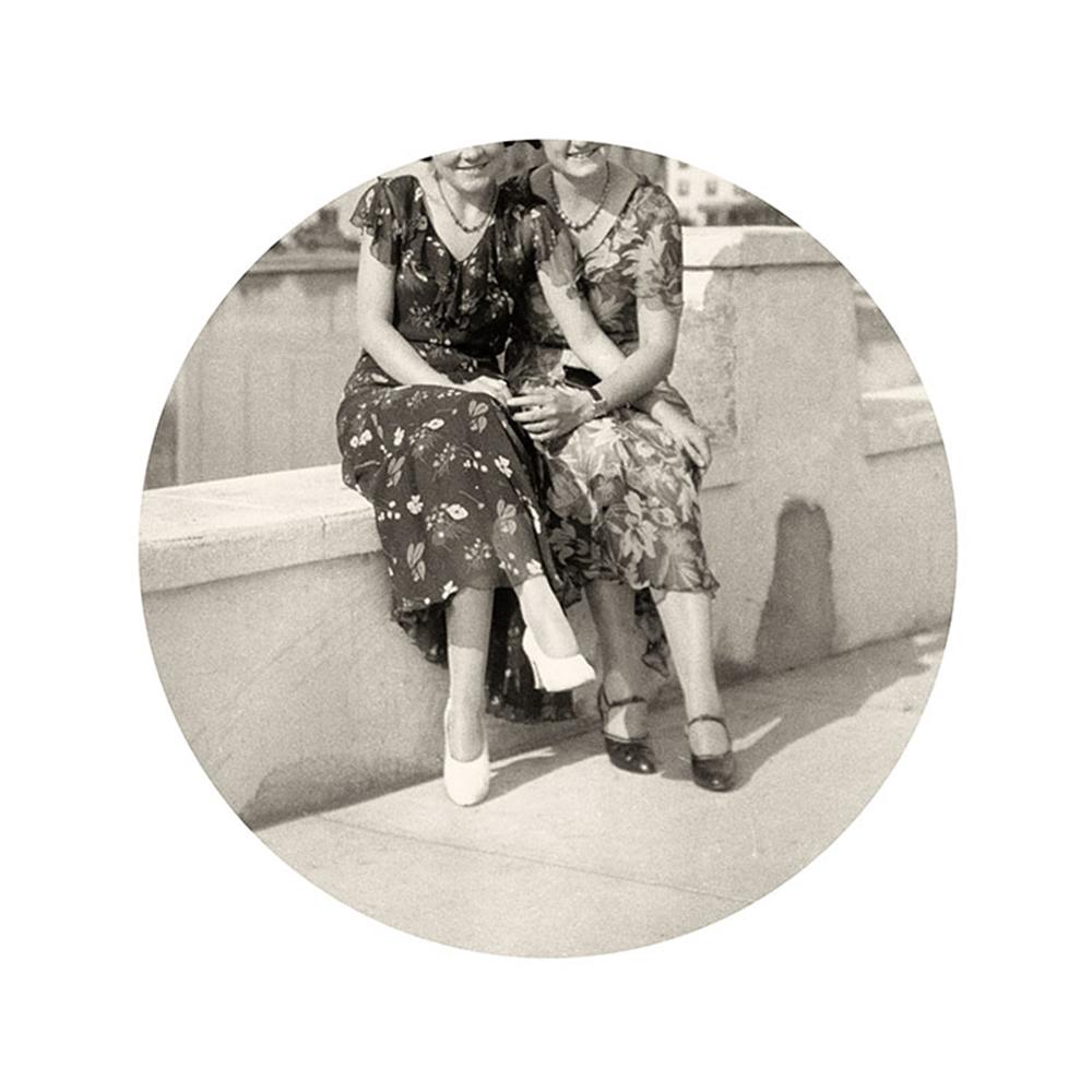 Kris Sanford,  Flowered Dresses