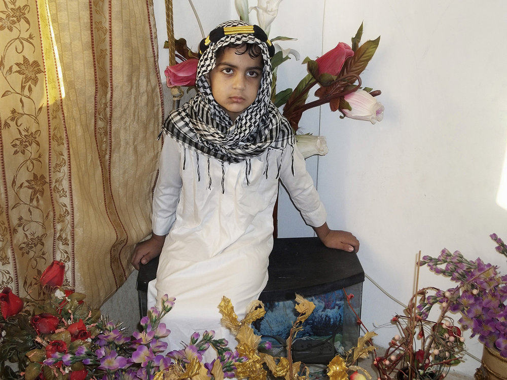 Malek, Bir El Amir School, Nazareth,  The Traditional Costume , 2013