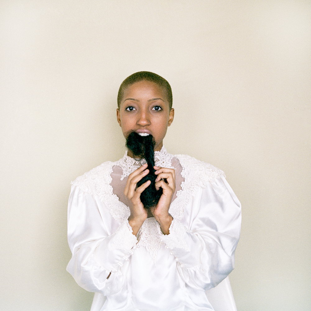 Nakeya Brown,  Hair Portrait #1 , from  The Refutation of Good Hair,  2012