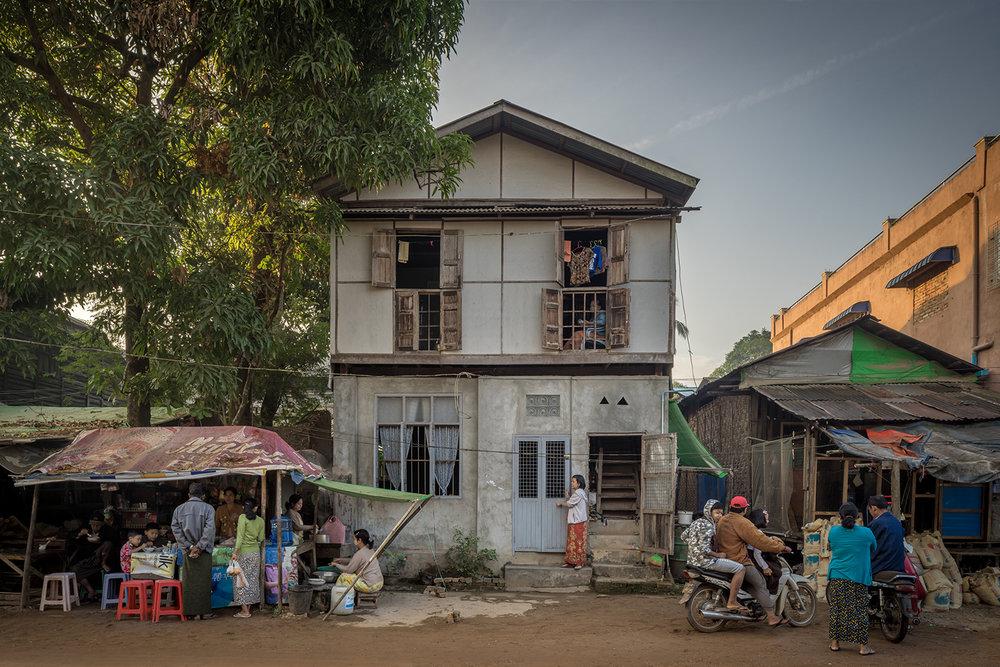 Eric West, Mawlamyine, Burma