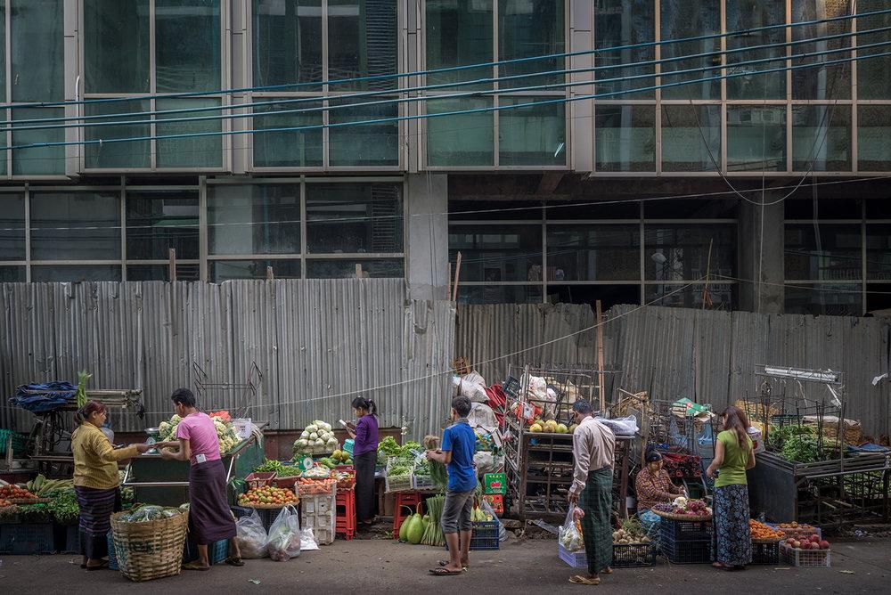 Eric West, Yangon, Burma