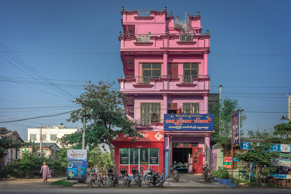 Eric West, Mandalay, Burma