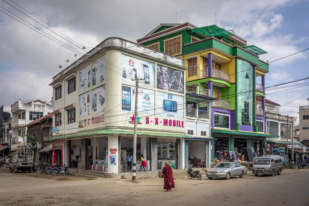 Eric West, Kyaington, Burma
