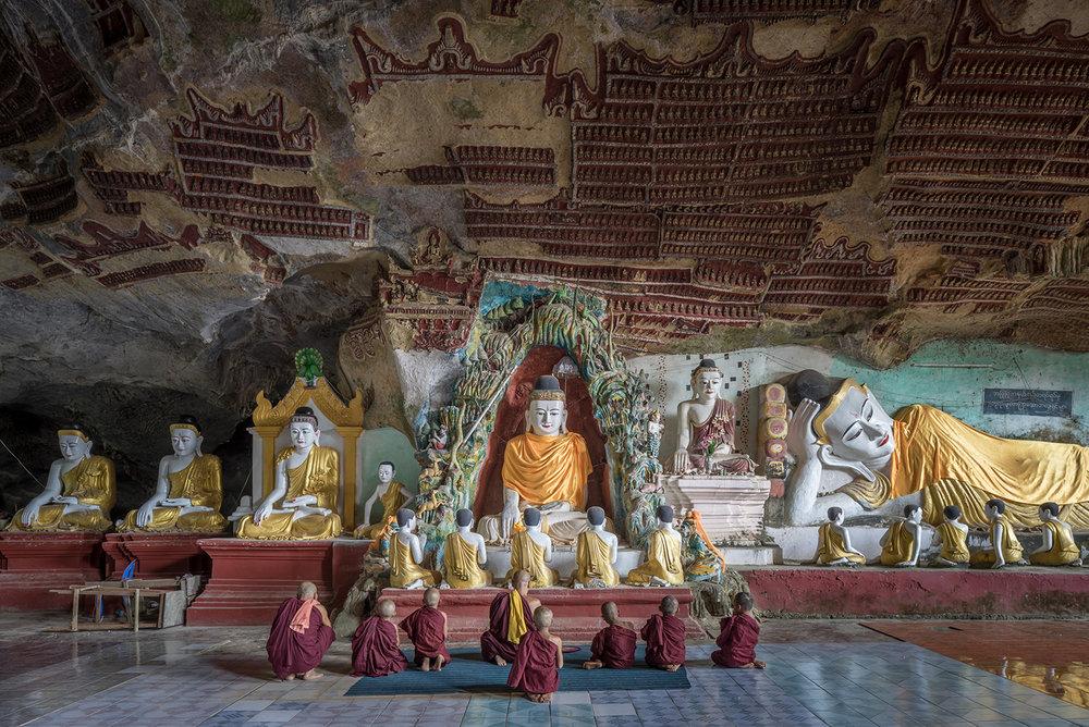 Eric West, Kawgun, Burma