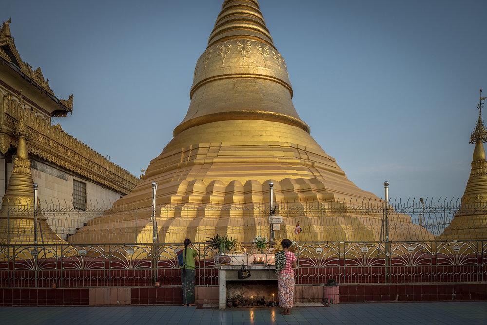 Eric West, Ye, Burma