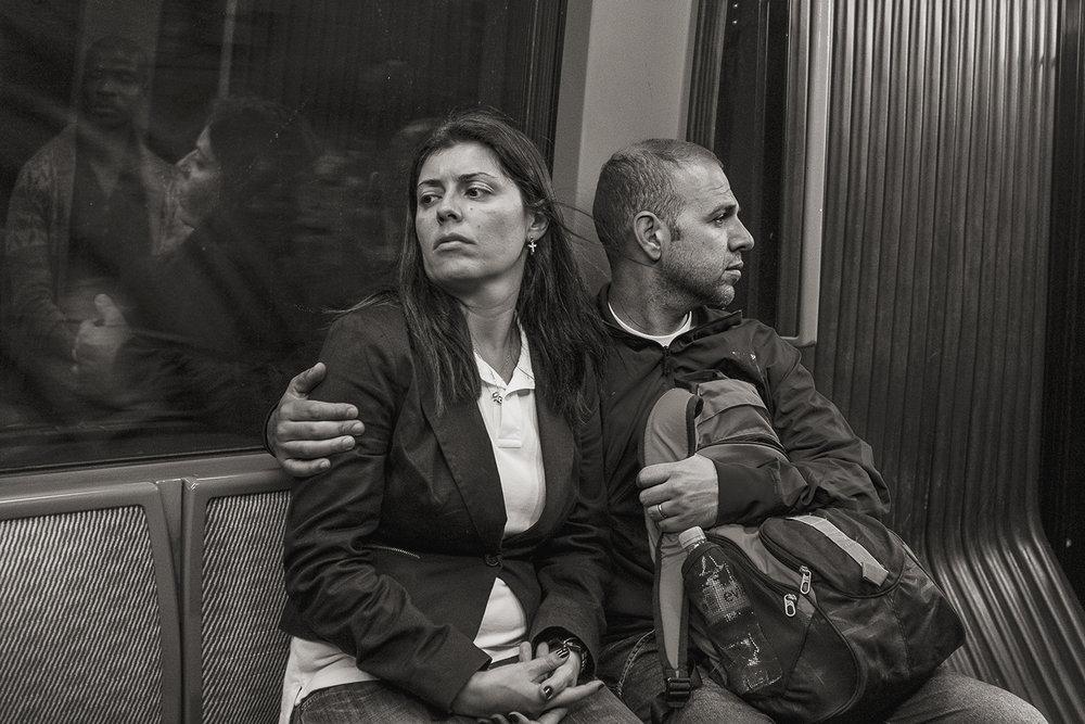 Stan Raucher,  Line 4 near Étienne Marcel, Paris , 2013