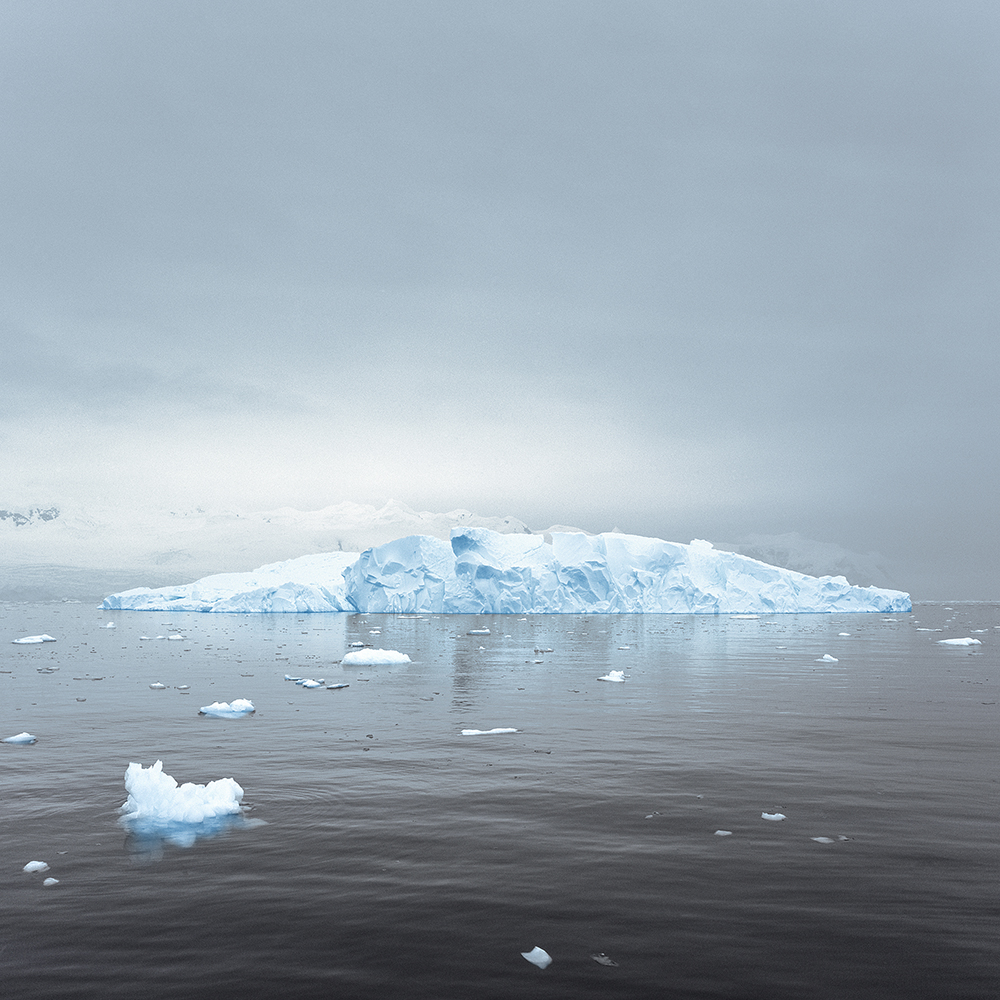 Magda Biernat,  Adrift #3, Antarctica,  2013