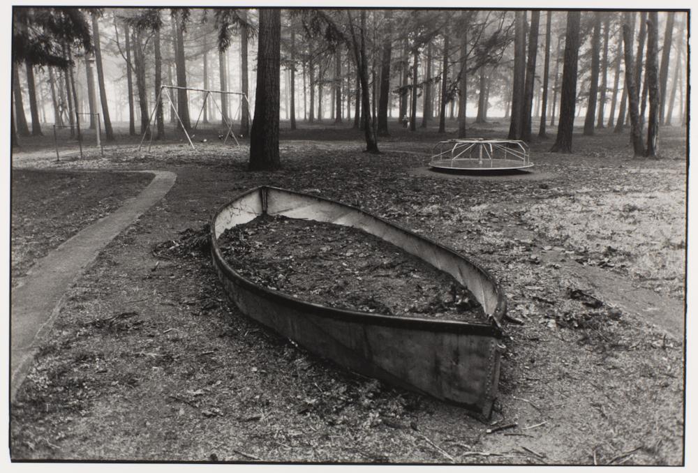 Ann Kendellen Sunken Boat, John Luby Park, Portland, OR (11×14″) - KEND1