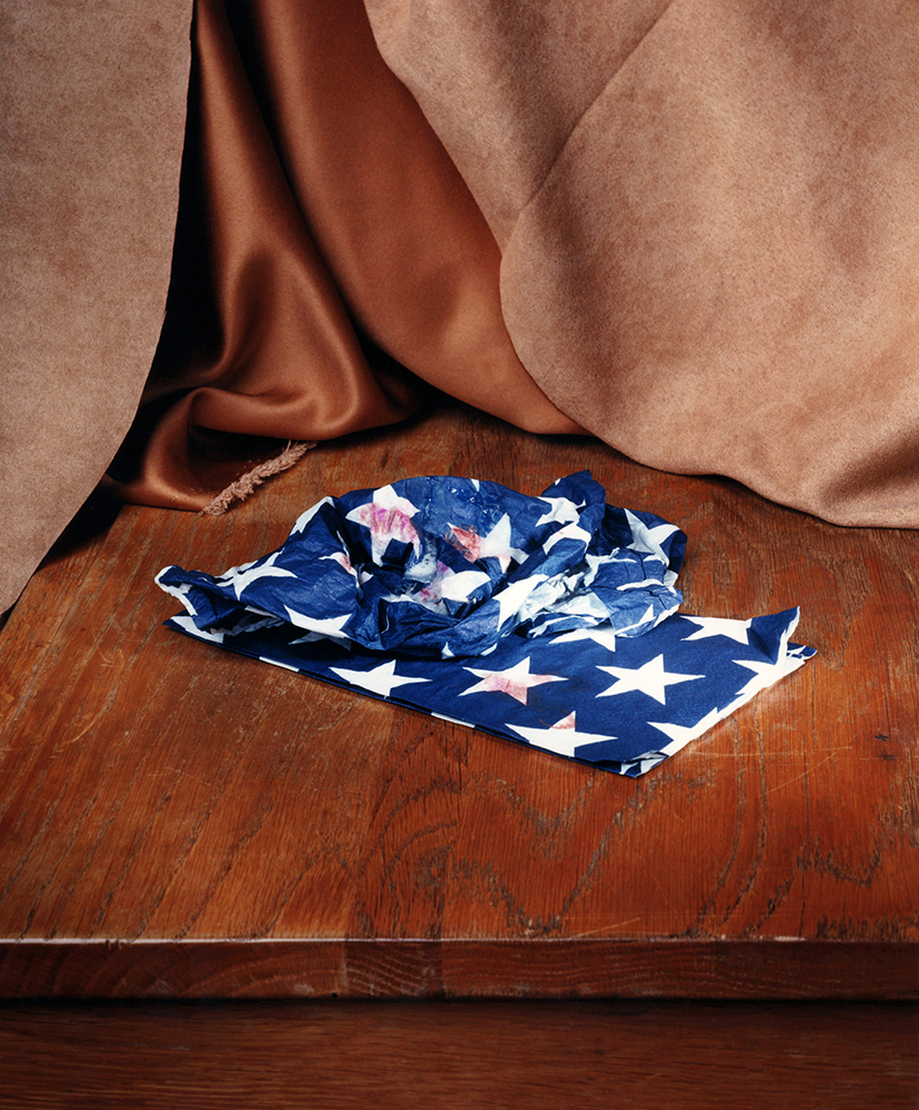 """Patriotic Napkins"" © 2016 Ashley Miller"
