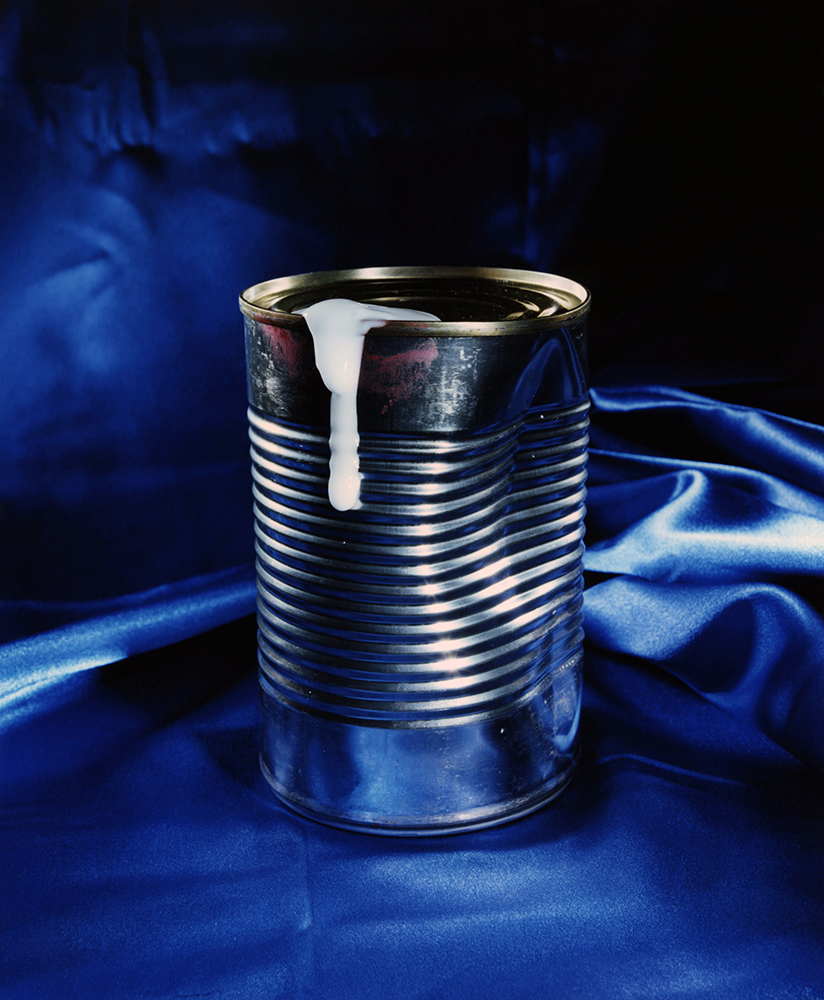"""Dented Tin Can"" © 2018 Ashley Miller"