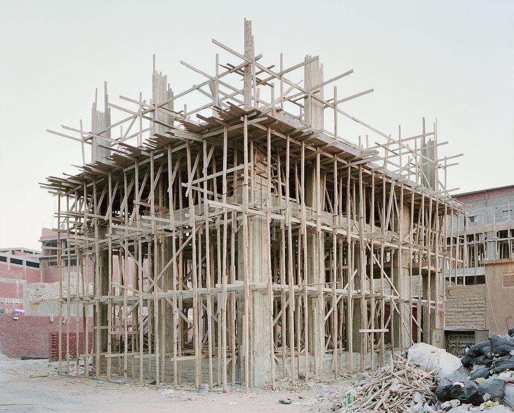 Noah Addis,  Construction in Manshiet, Nasser, Cairo , 2012