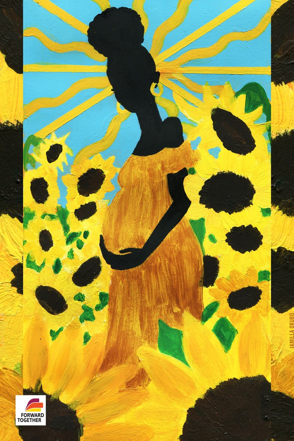 Black Mamas' Right to Parent - For Mother's Day 2018, I worked with Forward Together  to create art inspired by this year's theme,