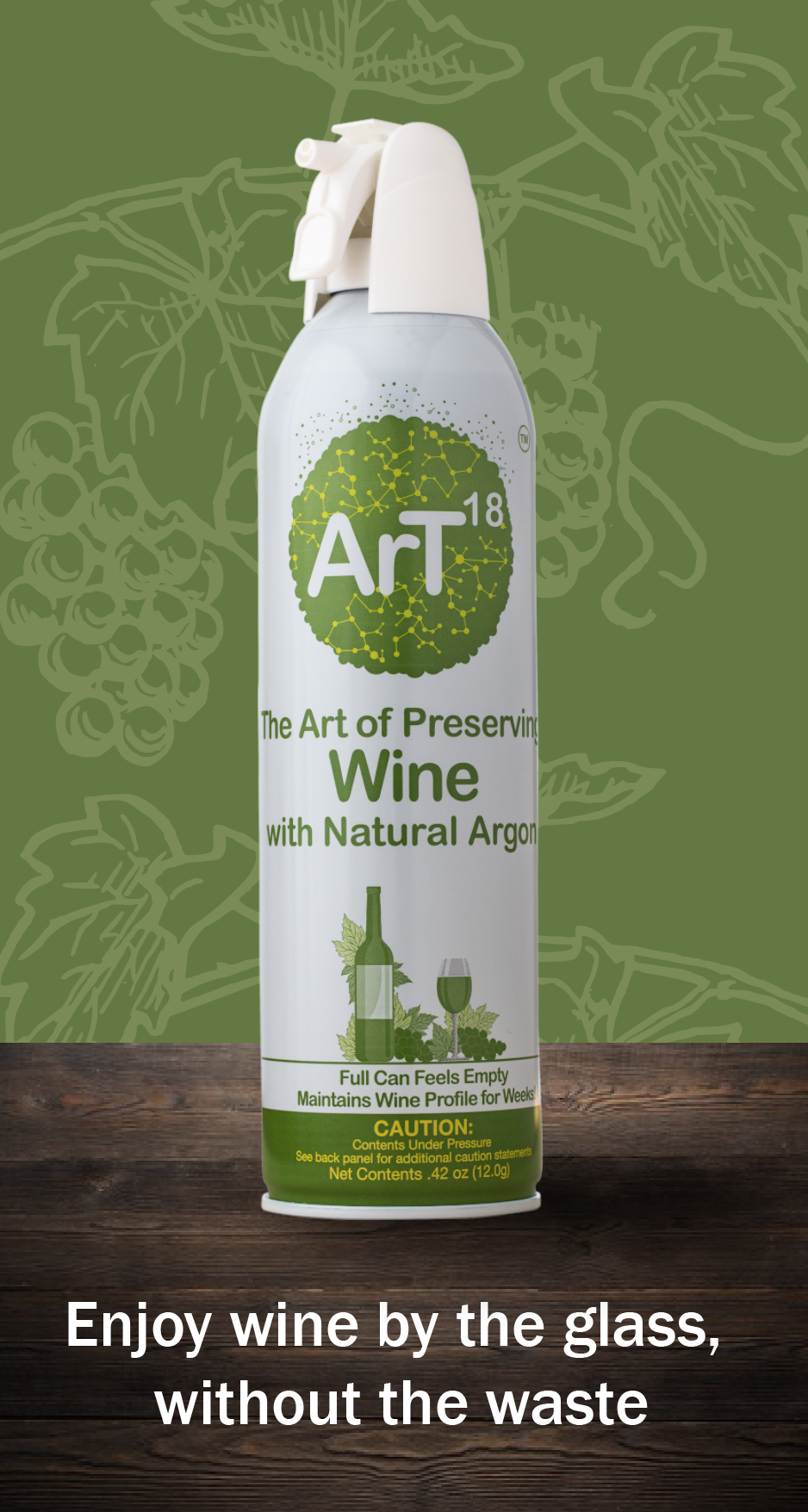 ArT Wine Preservation - Argon Wine Preserver Spray