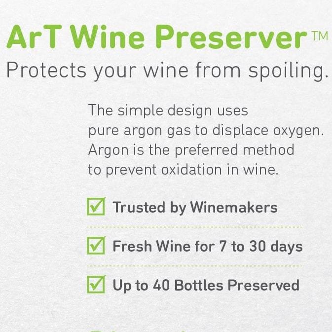 ArT Wine Preserver Features