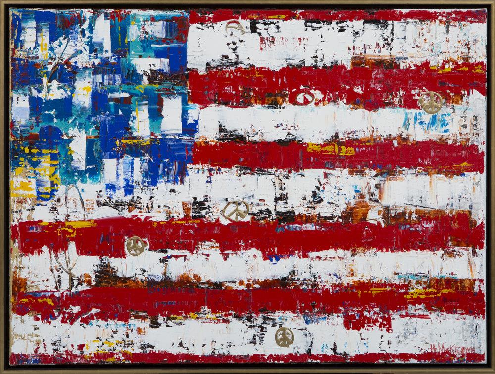 Peace Flag 30x40