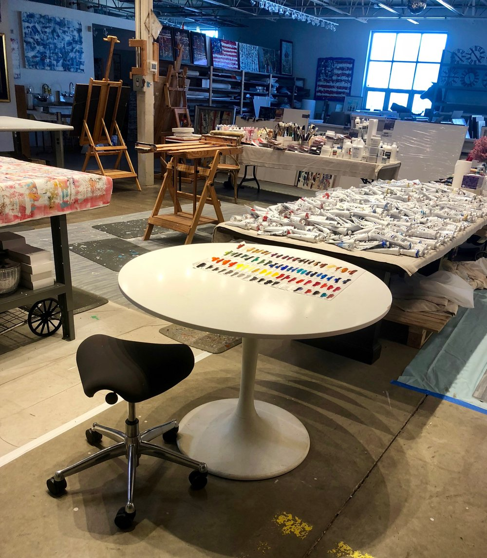 My Find Of The Day!! I Donu0027t Have A Real Saarinen Table But Now I Have Cute  Fake One That Iu0027m Just As Happy About! Iu0027m Going To Have Fun Working At  This ...