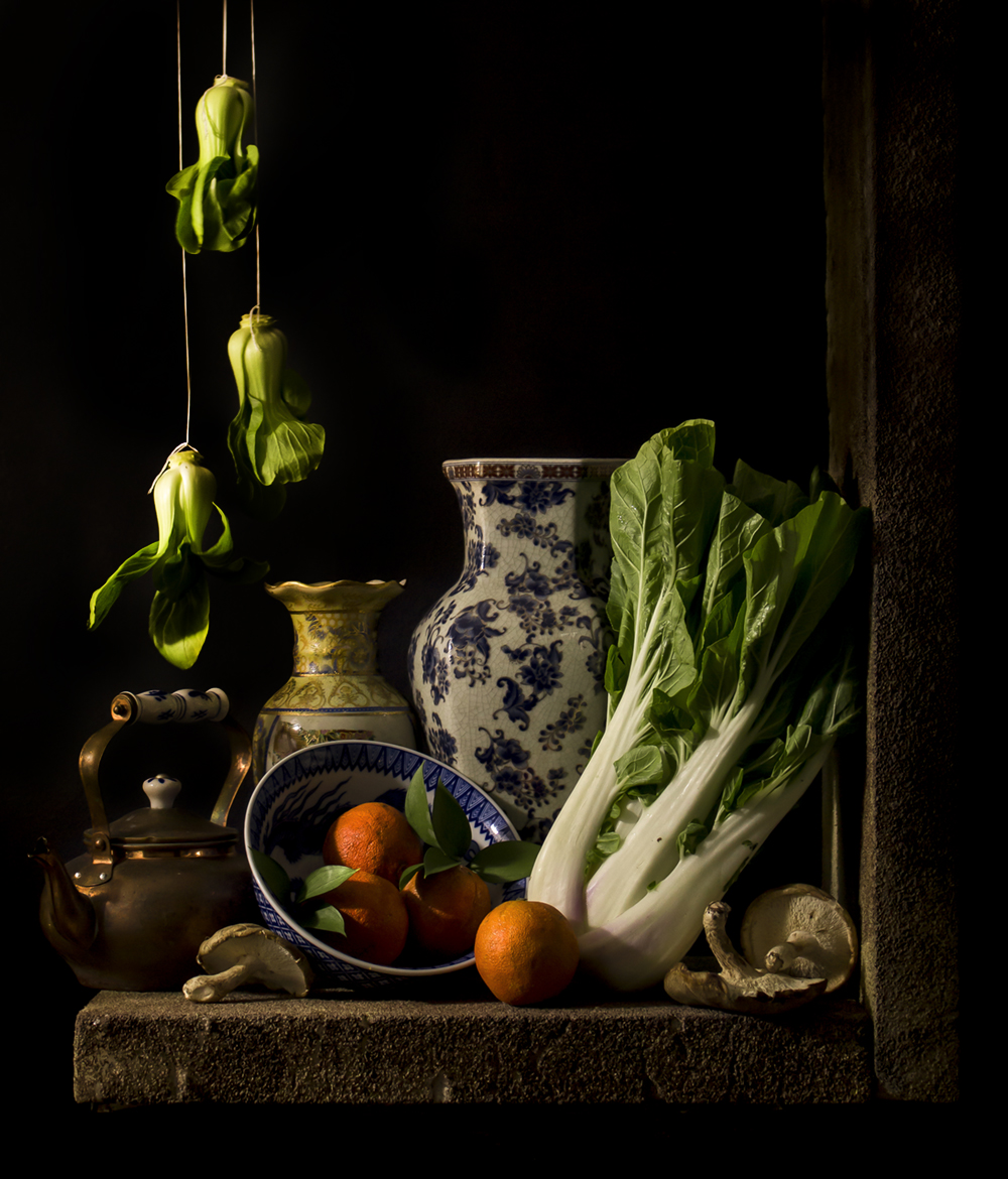 """Still Life with Bok Choy"""