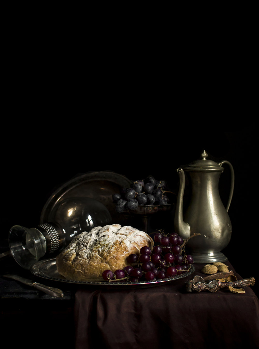 """Still Life with Bread and Walnuts"""