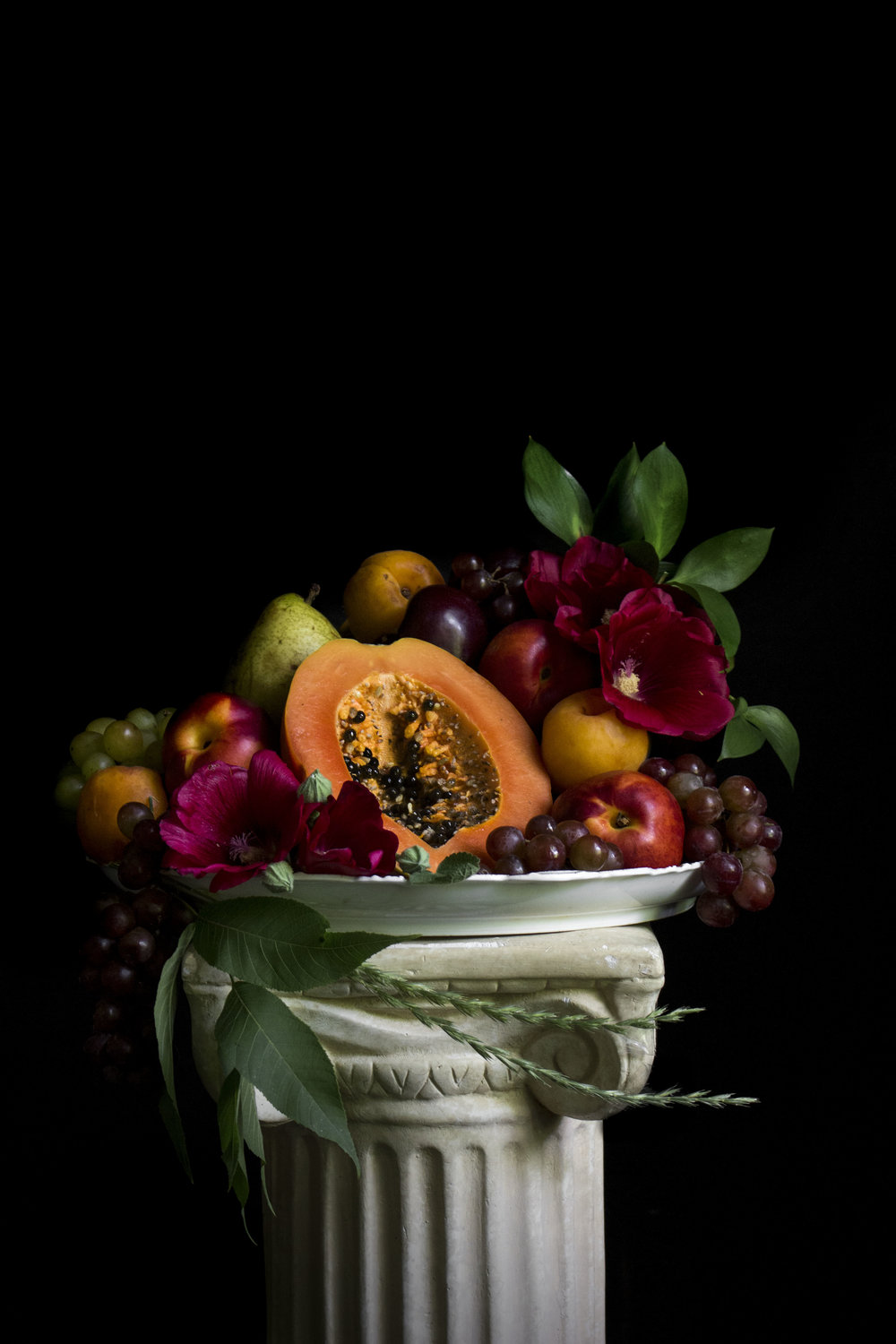 """Still Life with Papaya"""