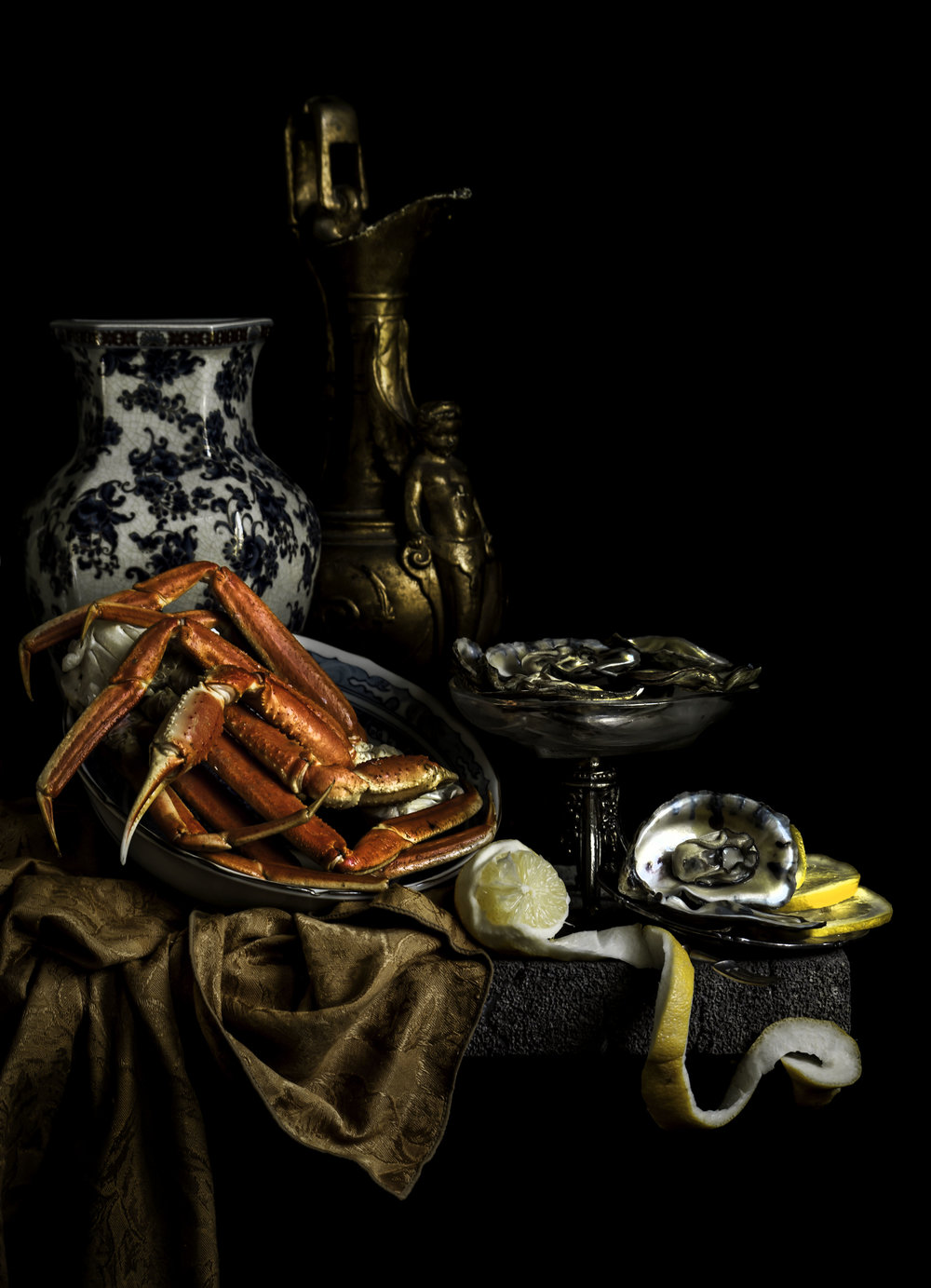 """Still Life with Lobster and Oysters"""