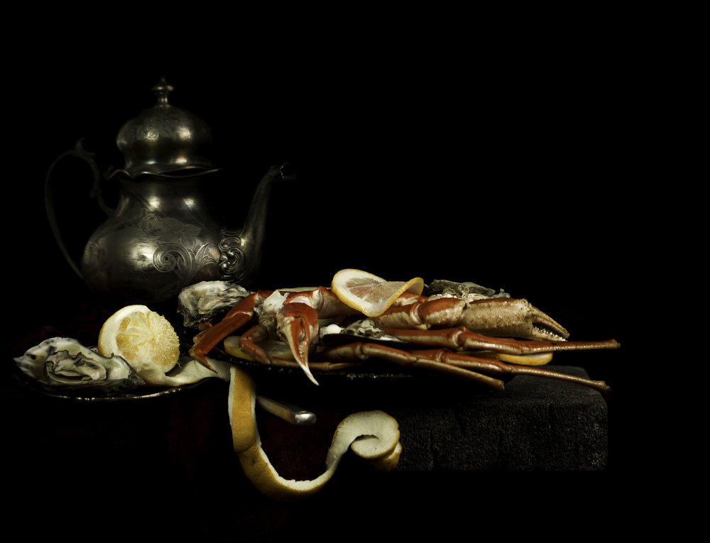 """Still Life with Lobster and Lemon"""