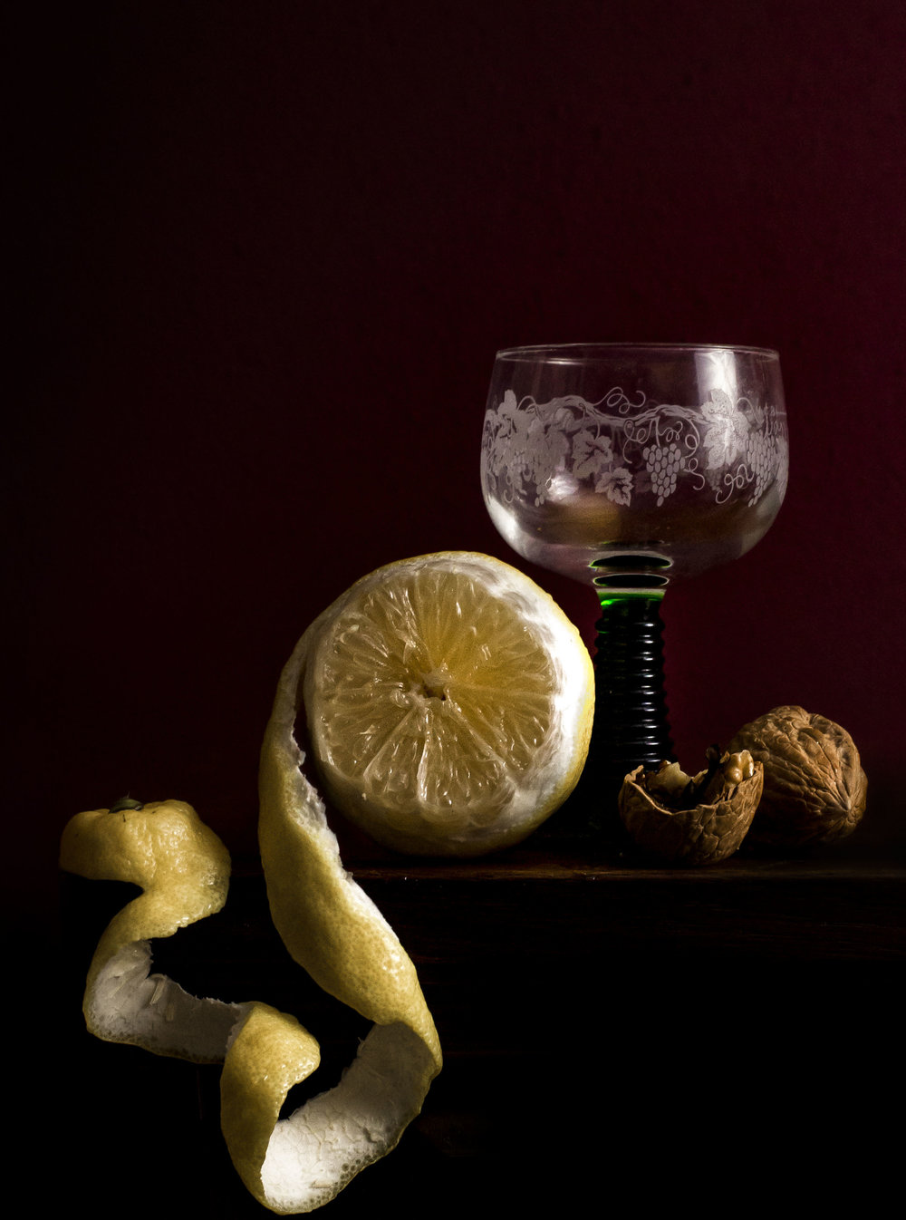 """Still Life with Roemer and Lemon"""