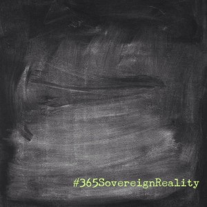 #365SovereignReality blank slate for the #newtechcity Bored and Brilliant challenge