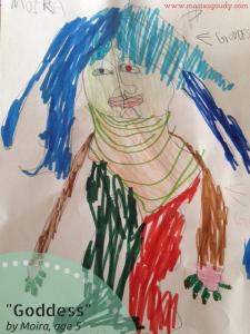 Goddess by Moira age 5
