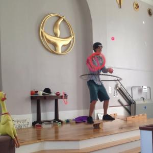 Trevor the Juggler in Brewster MA