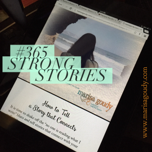 The iPad Time Machine, #365StrongStories by Marisa Goudy