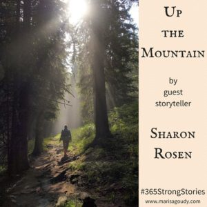 Up the mountain by guest storyteller Sharon Rosen #365StrongStories