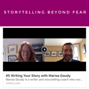 Storytelling Beyond Fear. John Harrison's True Calling Project.