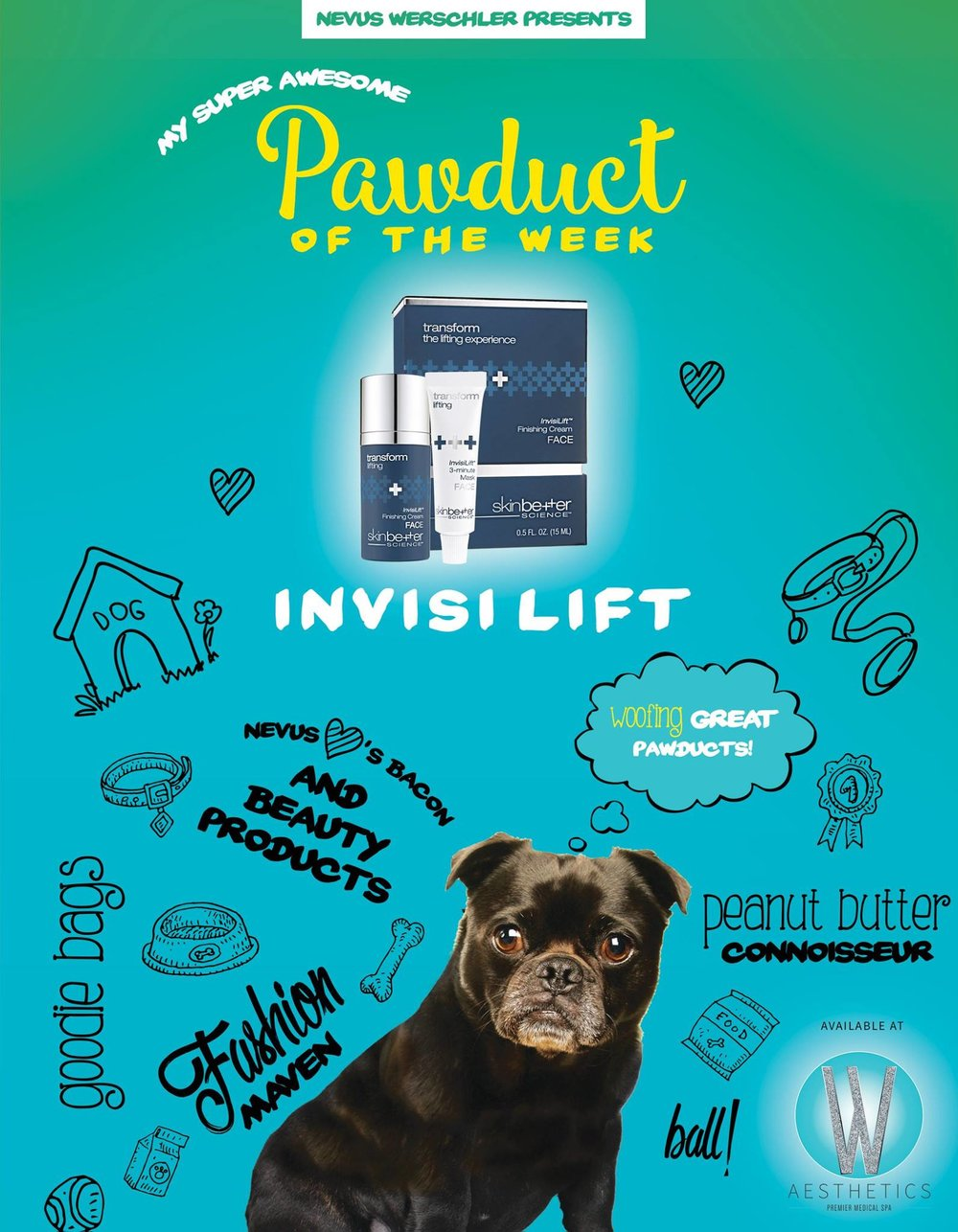 TRANSFORM  InvisiLift™  Lifting Experience is one of the many innovative skincare products in-stock at Werschler Aesthetics Premier Medical Spa in Spokane, WA.