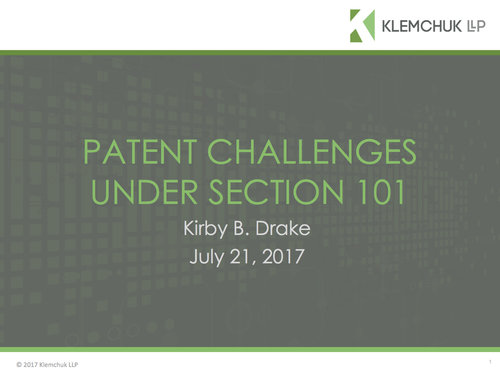 Pre-Issuance Patent Submissions- A New Way to Participate in
