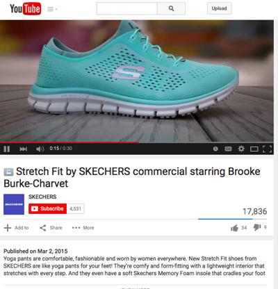 skechers yoga shoes commercial