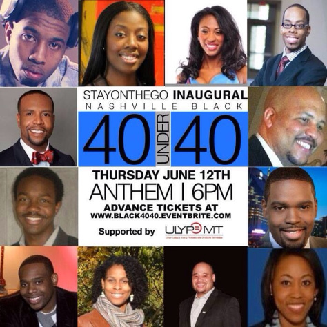 Bill McCleskey was recognized by 40 Under 40 Top Black Professionals in Nashville, Tennessee in 2015.