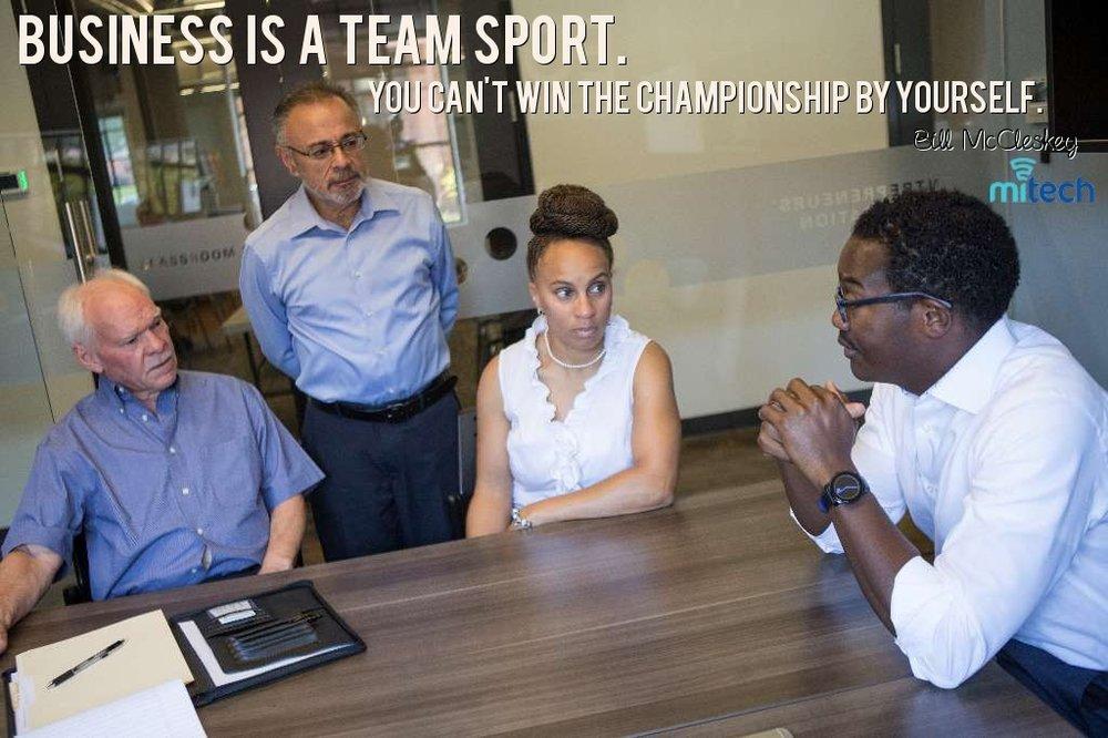 Business is a Team Sport Bill McCleskey.jpg