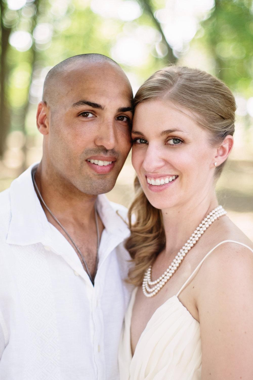 Bride and Groom Cedar Rapids Iowa Morgan Creek Arboretum Wedding