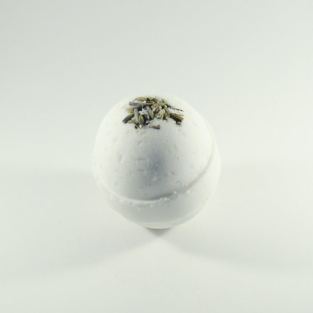 Lavender Bath Bomb - French Lavender Essential Oil & Buds...lavender lovers, this one's for you!!