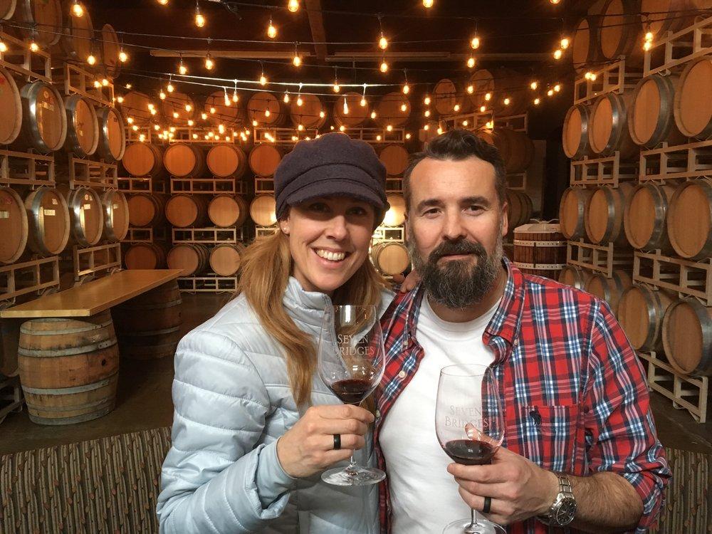 Cheers! - Tawnya & Sheldon Walsh - Owners, Rustic Soap Co.