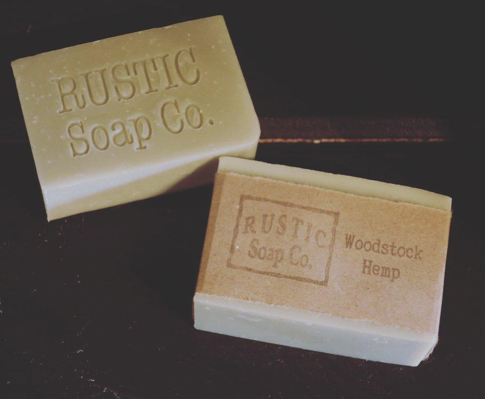 Woodstock Hemp Soap