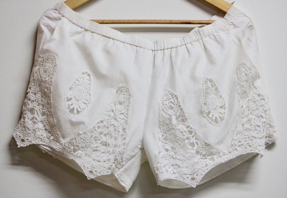 GoldHawk Lace Shorts