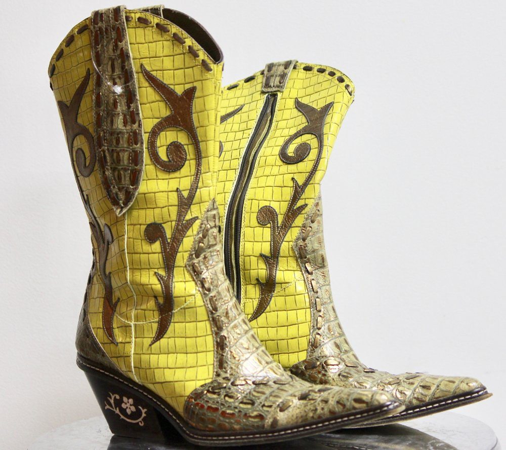 Donald Pliner Cowboy Boots