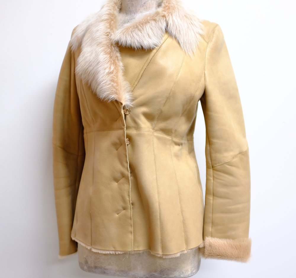 Elie Tahari Lambskin Jacket