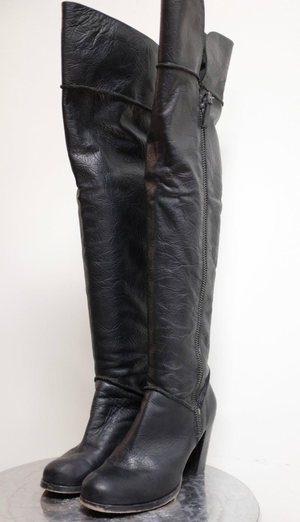 Vero Cuoio Thigh High Boots