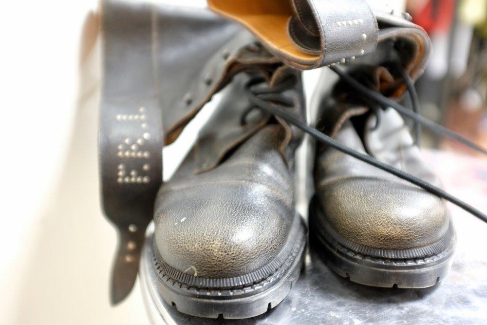 Fendissime Combat Boots