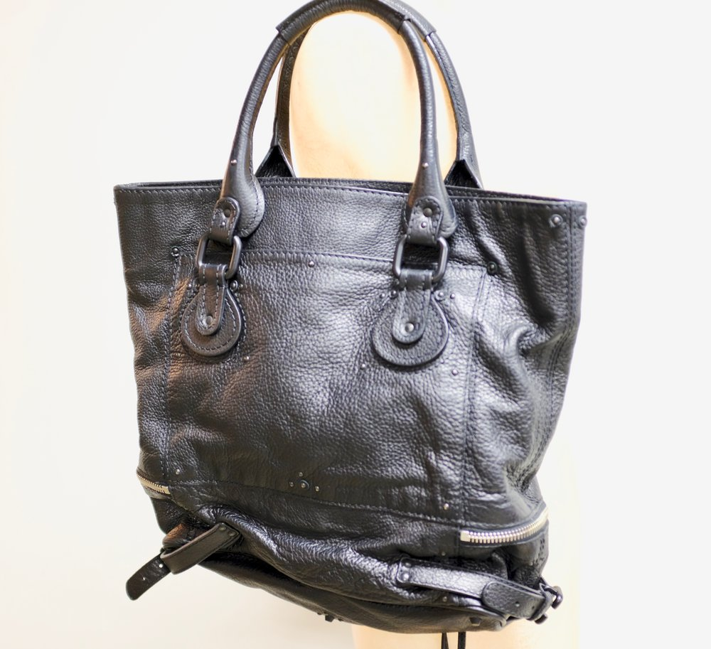 Chloe Paddington Zip Leather Tote