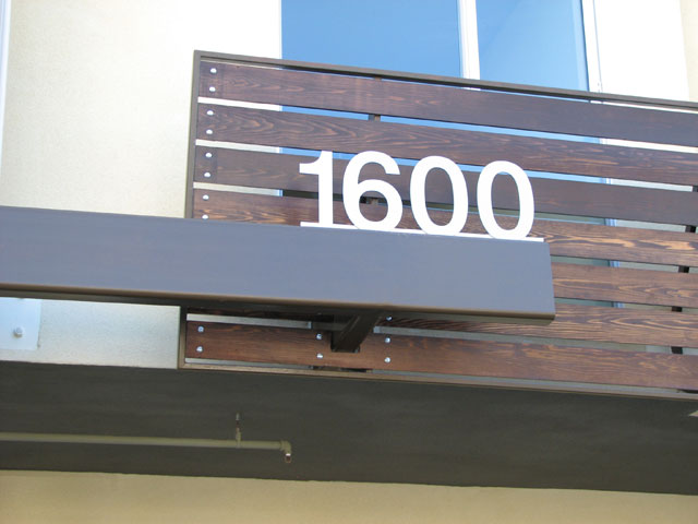 exterior address -