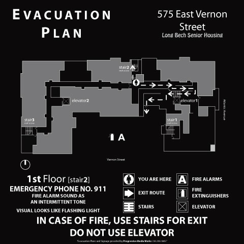 emergency evacuation maps -